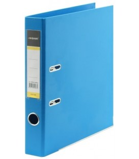 Папка-регистратор inФормат с двусторонним ПВХ-покрытием корешок 55 мм, ярко-синий