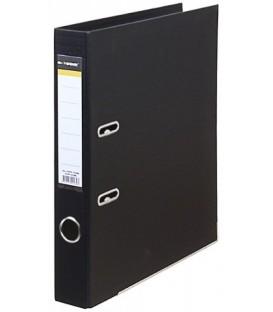 Папка-регистратор inФормат с двусторонним ПВХ-покрытием корешок 55 мм, черный