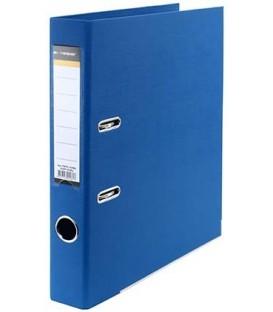 Папка-регистратор inФормат с двусторонним ПВХ-покрытием корешок 55 мм, синий