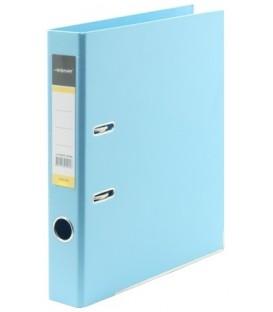 Папка-регистратор inФормат с двусторонним ПВХ-покрытием корешок 55 мм, голубой
