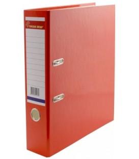 Папка-регистратор «Красная звезда» с односторонним ламинированным покрытием корешок 70 мм, оранжевый