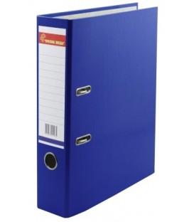 Папка-регистратор «Красная звезда» с односторонним ламинированным покрытием корешок 70 мм, синий