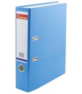 Папка-регистратор «Красная звезда» с односторонним ламинированным покрытием корешок 70 мм, голубой