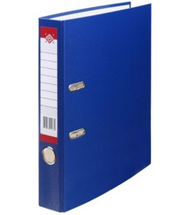 Папка-регистратор «Красная звезда» с односторонним ламинированным покрытием корешок 50 мм, темно-синий
