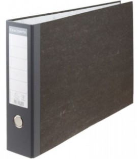 Папка-регистратор А3 горизонтальный Exacompta «под мрамор» корешок 80 мм, серый