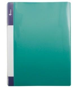 Папка пластиковая на 2-х кольцах Forpus толщина пластика 0,7 мм, светло-зеленая