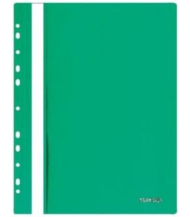 Папка пластиковая со скоросшивателем А4 Stanger толщина пластика 0,18 мм, зеленая