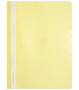 Папка пластиковая со скоросшивателем А4 inФормат толщина пластика 0,15 мм, желтый