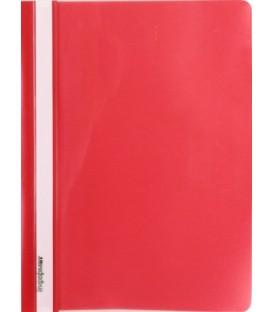 Папка пластиковая со скоросшивателем А4 inФормат толщина пластика 0,15 мм, красный