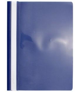 Папка пластиковая со скоросшивателем А4 inФормат толщина пластика 0,15 мм, синий