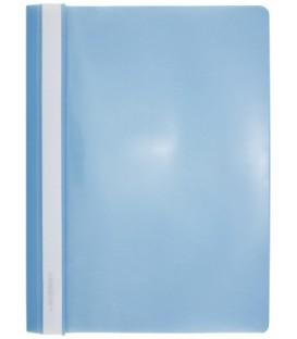 Папка пластиковая со скоросшивателем А4 inФормат толщина пластика 0,18 мм, голубая