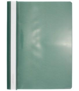 Папка пластиковая со скоросшивателем А4 inФормат толщина пластика 0,18 мм, зеленая