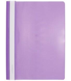 Папка пластиковая со скоросшивателем А4 inФормат толщина пластика 0,18 мм, фиолетовая