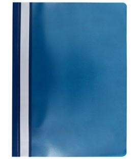Папка пластиковая со скоросшивателем А4 Lite толщина пластика 0,11 мм, синий