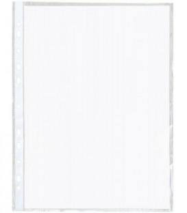 Файл А4 перфорированный inФормат 25 мкм, текстурированный, 219*304 мм (до 90 л.)