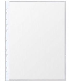 Файл А4+ перфорированный Format 25 мкм, гладкий, глянцевый, 219*303 мм (до 90 л.)