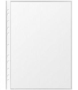 Файл А4+ перфорированный Format 35 мкм, гладкий, глянцевый, 219*303 мм (до 90 л.)
