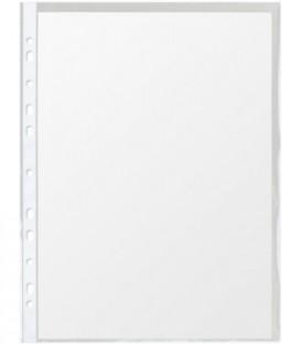 Файл А4 перфорированный Stanger 45 мкм, текстурированный, 221*309 мм (до 100 л.)