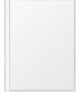 Файл А4 перфорированный Lite 30 мкм, гладкий, глянцевый, 219*298 мм (до 90 л.)
