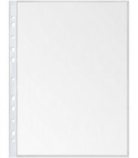 Файл А4 перфорированный Lite 25 мкм, текстурированный, 217*303 мм (до 70 л.)