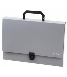 Портфель пластиковый Standart 370*250*40 мм, серый
