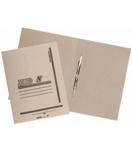 Папка картонная «Дело» со скоросшивателем А4, плотность 530 г/м2, серая