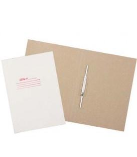 Папка картонная «Дело» со скоросшивателем А4, ширина корешка 30 мм, плотность 530 г/м2, белая