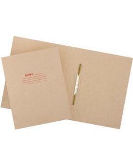 Папка картонная «Дело» со скоросшивателем А4, ширина корешка 30 мм, плотность 620 г/м2, серая, «Премиум»