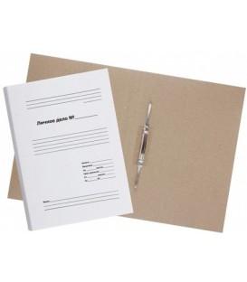 Папка картонная «Личное дело» со скоросшивателем А4, ширина корешка 30 мм, плотность 530 г/м2, белая