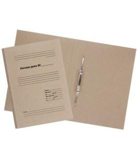 Папка картонная «Личное дело» со скоросшивателем А4, ширина корешка 30 мм, плотность 620 г/м2, серая