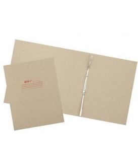 Папка картонная «Дело» со скоросшивателем А4, ширина корешка 100 мм, плотность 620 г/м2, серая