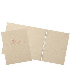 Папка картонная «Дело» со скоросшивателем А4, ширина корешка 120 мм, плотность 620 г/м2, серая