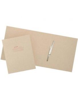Папка картонная «Дело» со скоросшивателем А4, ширина корешка 150 мм, плотность 620 г/м2, серая