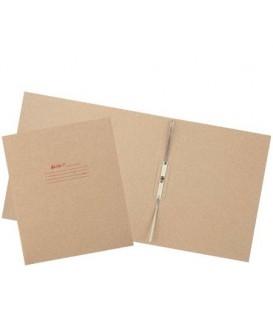 Папка картонная «Дело» со скоросшивателем А4, ширина корешка 80 мм, плотность 620 г/м2, серая