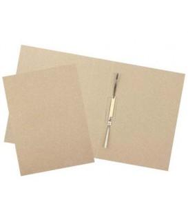 Папка картонная «Дело» со скоросшивателем А4, ширина корешка 60 мм, плотность 620 г/м2, серая
