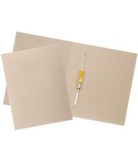 Папка картонная «Дело» со скоросшивателем А4, ширина корешка 40 мм, плотность 620 г/м2, серая