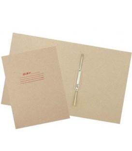 Папка картонная «Дело» со скоросшивателем А4, ширина корешка 50 мм, плотность 620 г/м2, серая