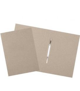 Папка картонная «Дело» со скоросшивателем А4, ширина корешка 30 мм, плотность 428 г/м2, серая, «Эконом»
