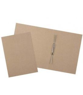 Папка картонная «Дело» со скоросшивателем А4, ширина корешка 70 мм, плотность 620 г/м2, серая