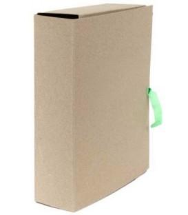 Папка картонная со скоросшивателем на завязках А4, ширина корешка 80 мм, плотность 620 г/м2, серая
