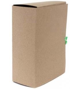 Папка картонная со скоросшивателем на завязках А4, ширина корешка 120 мм, плотность 620 г/м2, серая