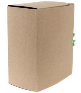 Папка картонная со скоросшивателем на завязках А4, ширина корешка 150 мм, плотность 620 г/м2, серая