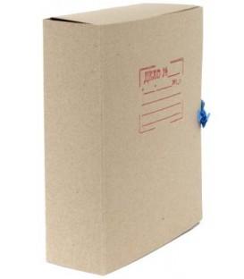 Папка картонная со скоросшивателем на завязках А4, ширина корешка 90 мм, плотность 620 г/м2, серая