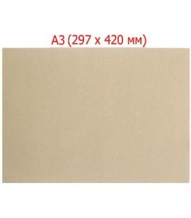 Картон для сшивки документов «Деловые ресурсы» А3 (417*297 мм), толщина картона 0,6 мм, плотность 428 г/м2, серый