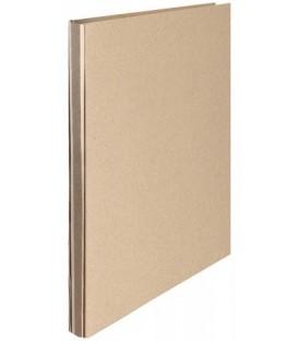 Папка картонная на шнуровке «Дело» А4, немелованная, плотность 428 г/м2, серая