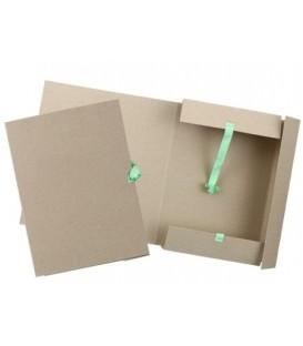 Папка картонная на завязках «Дело» А4, плотность 620 г/м2, ширина корешка 60 мм, серая