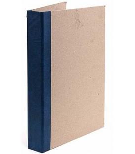 Папка архивная из картона со сшивателем (без шпагата) А4, ширина корешка 40 мм, плотность 1240 г/м2, ассорти