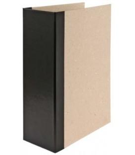 Папка архивная из картона со сшивателем (со шпагатом) А4, ширина корешка 100 мм, плотность 1240 г/м2, черная