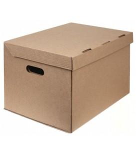 Короб архивный из гофрокартона 450*340*295 мм