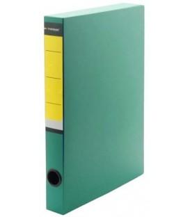 Короб архивный из пластика на липучке inФормат корешок 36 мм, 235*320*36 мм, зеленый